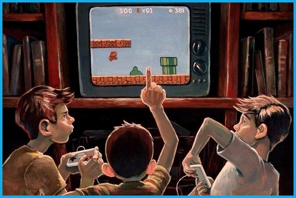 retro games shop super mario dendy 8 bit
